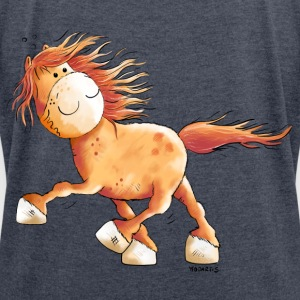 Icelandic Horse Hoodies & Sweatshirts - Women's T-shirt with rolled up sleeves