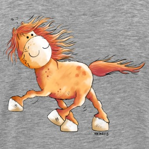 Icelandic Horse Long Sleeve Shirts - Men's Premium T-Shirt