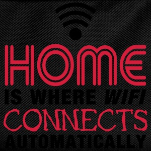home is where the wifi connects automatically II2c Toppar - Ryggsäck för barn