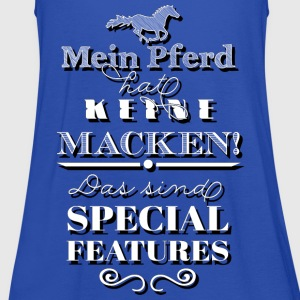 Mein Pferd hat Special Features - Shade Edition T-Shirts - Frauen Tank Top von Bella