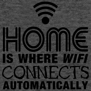 home is where the wifi connects automatically II Bags & Backpacks - Women's Tank Top by Bella