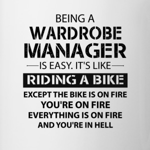 Being A Wardrobe Manager Like The Bike Is On Fire T-Shirts - Mug