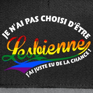 Lesbienne chanceuse  Sweat-shirts - Casquette snapback