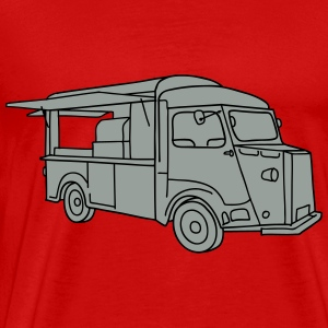 Foodtruck streetfood 2 Long Sleeve Shirts - Men's Premium T-Shirt