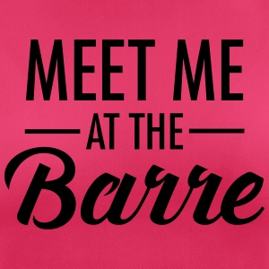 Meet Me At The Barre Toppe - Dame T-shirt svedtransporterende