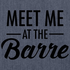 Meet Me At The Barre T-Shirts - Schultertasche aus Recycling-Material
