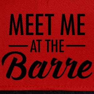 Meet Me At The Barre Top - Snapback Cap