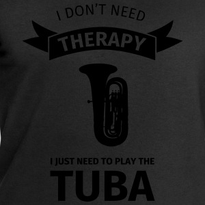 I don't need therapy I just need to play the tuba T-shirts - Sweatshirt herr från Stanley & Stella