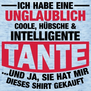 Coole, hübsche & intelligente Tante T-Shirts - Frauen Tank Top von Bella