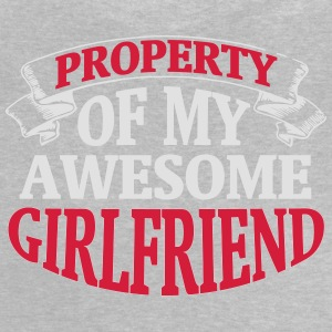 PROPERTY OF MY HORNY GIRLFRIEND! Shirts - Baby T-Shirt