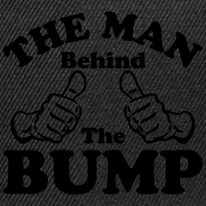 The Man Behind the Bump T-Shirts - Snapback Cap