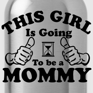 This Girl Is Going To Be A Mommy T-Shirts - Water Bottle