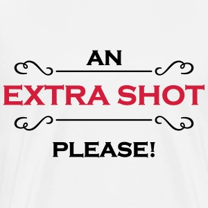 An extra shot please Manches longues - T-shirt Premium Homme