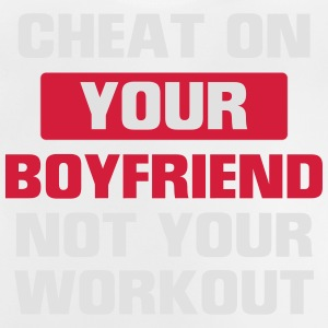 FUCK YOUR GIRLFRIEND BUT NOT YOUR TRAINING! Shirts - Baby T-Shirt