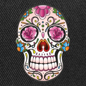 Mexican Sugar Skull, day of the dead Tee shirts - Casquette snapback