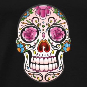 Mexican Sugar Skull, day of the dead Sweat-shirts - T-shirt Premium Homme