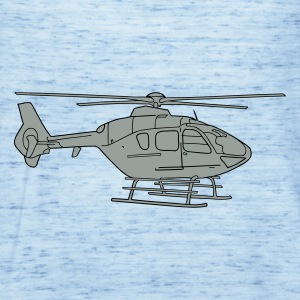 Helicopter 2 T-Shirts - Women's Tank Top by Bella