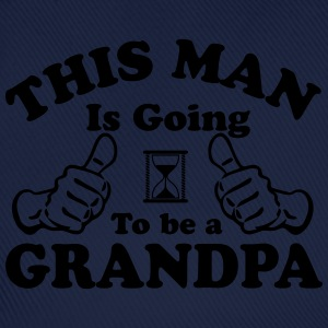 This Man Is Going To Be A Grandpa T-Shirts - Baseball Cap