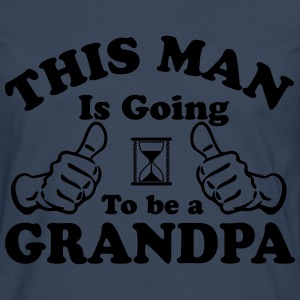 This Man Is Going To Be A Grandpa T-Shirts - Men's Premium Longsleeve Shirt