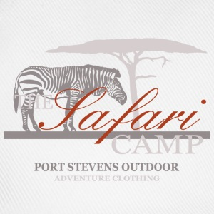 Zebra - The  Safari Camp T-Shirts - Baseballkappe