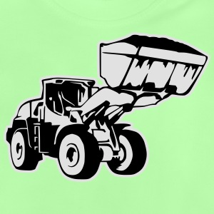 Radlader, Wheel Loader (2 color) Shirts - Baby T-Shirt