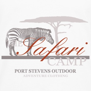 Zebra - The  Safari Camp Tops - Männer Premium Langarmshirt