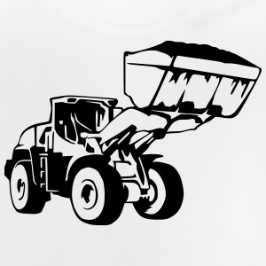 Radlader, Wheel Loader (1 color) Shirts - Baby T-Shirt