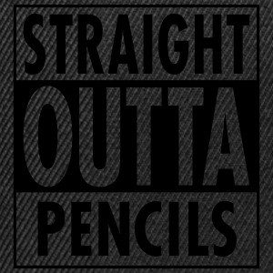 Straight Outta Pencils T-shirts - Snapbackkeps