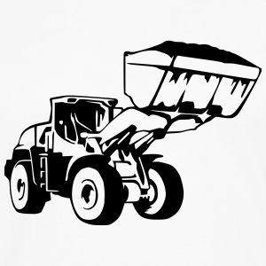 Radlader, Wheel Loader (1 color) Shirts - Men's Premium Longsleeve Shirt