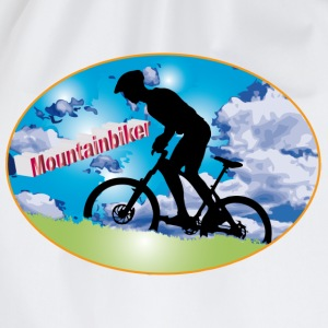 Mountainbiker - Turnbeutel