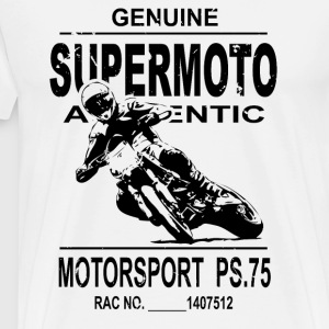 Supermoto Tabliers - T-shirt Premium Homme