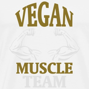MUSCLE FROM NATURAL VEGAN GROWING! Other - Men's Premium T-Shirt