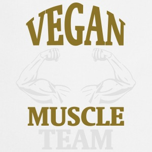 MUSCLE FROM NATURAL VEGAN GROWING! Sports wear - Cooking Apron