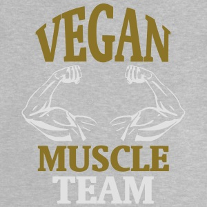 MUSCLE FROM NATURAL VEGAN GROWING! Shirts - Baby T-Shirt