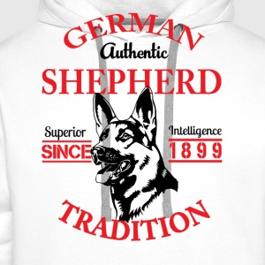 German Shepherd Tradition T-Shirts - Men's Premium Hoodie