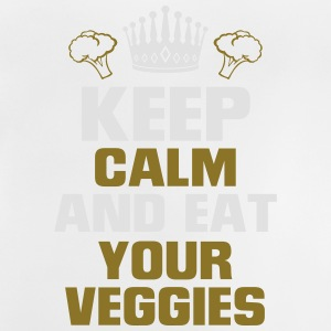 KEEP CALM AND EAT YOUR VEGETABLES! Long Sleeve Shirts - Baby T-Shirt