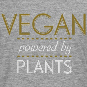 VEGAN powered by Nature Camisetas - Camiseta de manga larga premium hombre