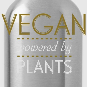 VEGAN powered by Nature Magliette - Borraccia