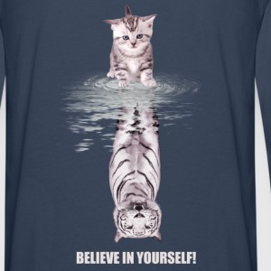 Believe in yourself Hoodies & Sweatshirts - Men's Premium Longsleeve Shirt