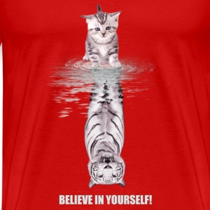 Believe in yourself Tops - Männer Premium T-Shirt