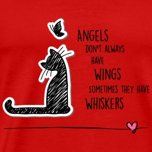 Cat angels Tops - Men's Premium T-Shirt