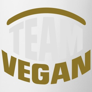 TEAM VEGAN! T-shirts - Kop/krus