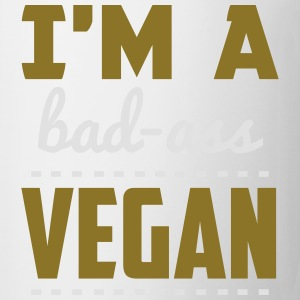 SOY UN VEGANO BAD-ASS! Camisetas - Taza
