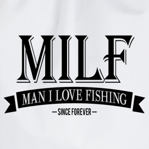 MILF / Man I Love Fishing / black T-skjorter - Gymbag