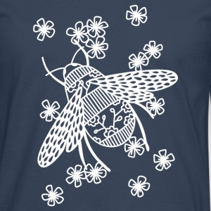 Papercut Bee - Men's Premium Longsleeve Shirt