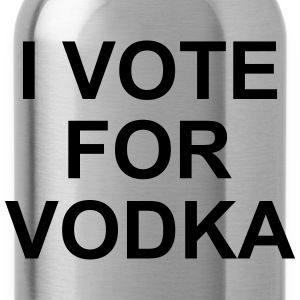 I Vote For Vodka T-Shirts - Water Bottle