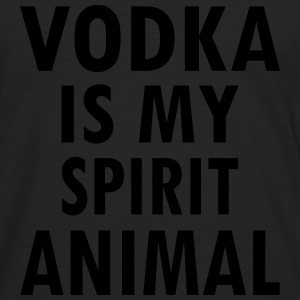Vodka Is My Spirit Animal T-Shirts - Men's Premium Longsleeve Shirt
