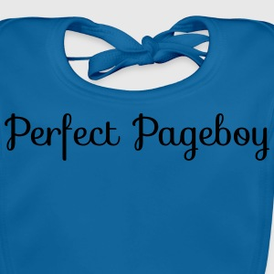 Perfect Pageboy Shirts - Baby Organic Bib