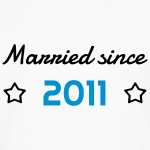 2011 - Birthday Wedding - Marriage - Love - Wife Camisetas - Camiseta de manga larga premium hombre