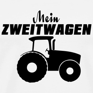 Tractor Mugs & Drinkware - Men's Premium T-Shirt